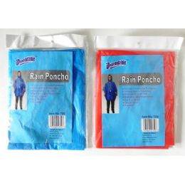 48 Units of Rain Poncho - Umbrellas & Rain Gear
