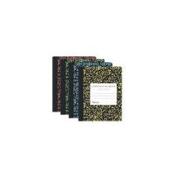 48 Units of Bazic W/r 100 Ct. Assorted Color Marble Composition Book - Notebooks
