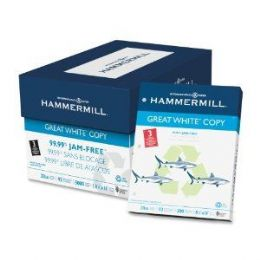 "HAMMERMILL GREAT (92) 8.5"" X 11"" 3-Hole Punched White Copy Paper (10 Reams/Case) - Paper"
