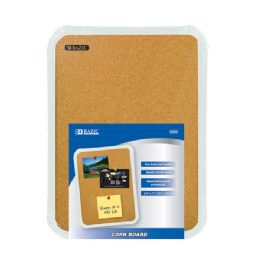 "72 Units of Bazic 8.5"" X 11"" Cork Board - Dry Erase"