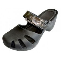18 Units of Girls' Wedge Sandals (black Color Only) - Girls Sandals