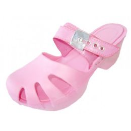 18 Units of Girls' Wedge Sandals(pink Color Only) - Girls Sandals