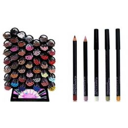 72 Units of Kleancolor Lip & Eyeliner Pencil - Lip & Eye Pencil