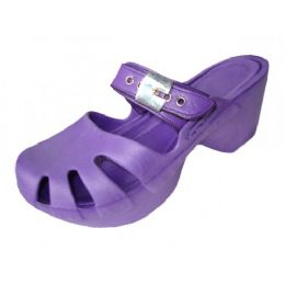 18 Units of Girls' Wedge Sandals (purple Color Only) - Girls Sandals