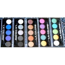 48 Units of Eye Shadow Compacts La Colors Mixed Colors - Eye Shadow & Mascara