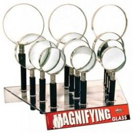 48 Units of Seevix Magnifying Glasses 12Ct - Magnifying  Glasses