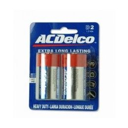 48 Units of ACDelco Hvy Duty D Battery 2Pk - Batteries