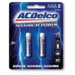 48 Units of ACDelco Alkaline AAA - 2 Piece - Batteries