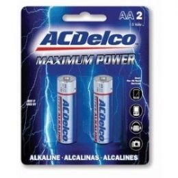 48 Units of ACDelco Alkaline AA - 2 Piece - Batteries