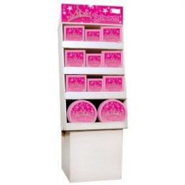 Princess Pre-Pk Flr Shipper 156 Ct - Party Accessory Sets