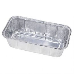 500 Units of 1.5 Lb Aluminum Loaf Pan - Aluminum Pans