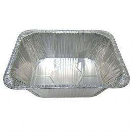 100 Units of Aluminum Pan 1/2 size Extra Deep - Aluminum Pans