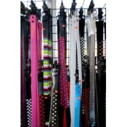 48 Units of Pyramid Studs Belt - Unisex Fashion Belts