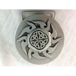 36 Units of Flame Style Belt Buckle - Belt Buckles
