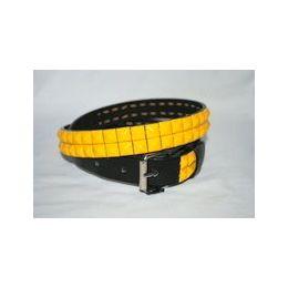 48 Units of 2-Row Metal Pyramid Studded kids Leather Belt Unisex boys girls - Unisex Fashion Belts