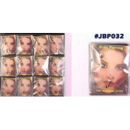 48 Units of Body Piercing Jewelry Set - Body Jewelry