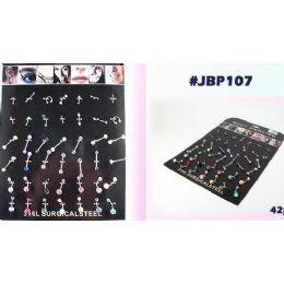 126 Units of Body Jewelry/ Body Piercing - Body Jewelry