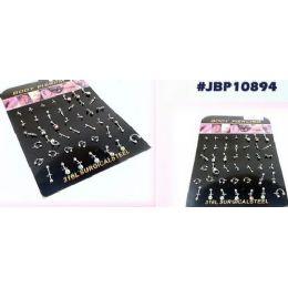 126 Units of Body Jewelry/ Body Piercing With Display - Body Jewelry