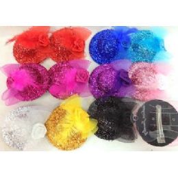 48 Units of Hair Accessary/ Hair Clip Hat For Woman/ Girl - Hair Accessories