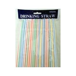 48 Units of Bendable Drinking Straw - Straws and Stirrers