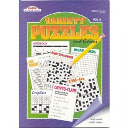 80 Units of Variety Puzzles - Crosswords, Dictionaries, Puzzle books