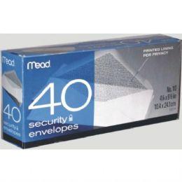 24 Units of #10 Security White Envelopes - Envelopes