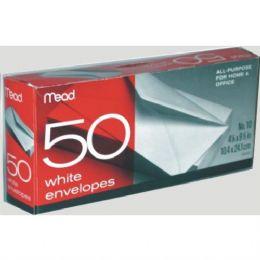 24 Units of #10 White Envelopes 50ct - Envelopes