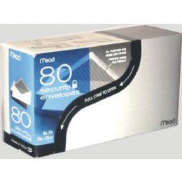 24 Units of #6 Security White Envelopes 80ct - Envelopes