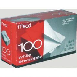 24 Units of #6 White Envelopes 100ct - Envelopes