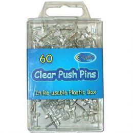 48 Units of Push Pins 60ct - Push Pins and Tacks