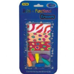 48 Units of Multi-functional Erasers 9pk - Erasers