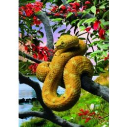 20 Units of 3D Picture-Snake in Tree - Wall Decor