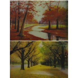 20 Units of 3D Picture-Trees in Autumn - Wall Decor