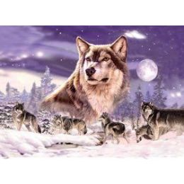 50 Units of 3D Picture-Wolf Pack - Wall Decor