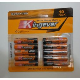 72 Units of 10pk AAA Battery - Batteries