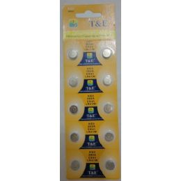 60 Units of 10pk AG3 Batteries - Batteries