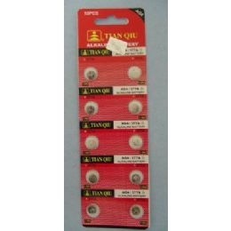 60 Units of 10pk AG4 Batteries - Batteries