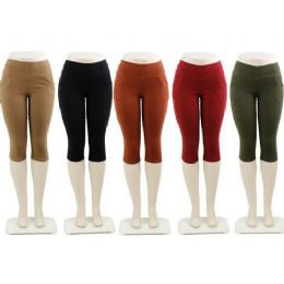 48 Units of Ladies Capri Pants - Womens Capri Pants