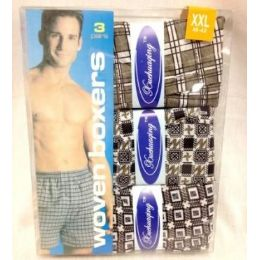 24 Units of Men's Boxer Sets 3 pairs per pack - Mens Underwear