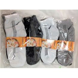 120 Units of 12 pairs Mens Ankle socks short length below ankle - Mens Ankle Sock
