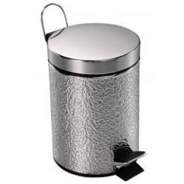 6 Units of 3 Liter Deluxe Stainless Steel Step Can - Waste Basket