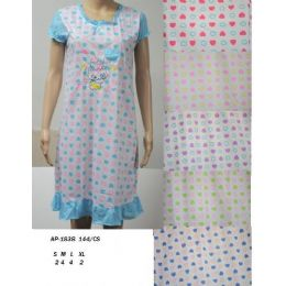 72 Units of Ladies Night Gown / House Duster - Women's Pajamas and Sleepwear