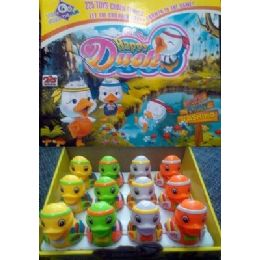 72 Units of Wind Up Happy Duck Toy - Toy Sets