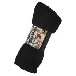 60 Units of Mens 3 Pack Low Cut Sock Size 10-13 Black Color Only - Mens Ankle Sock