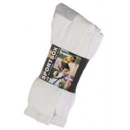 60 Units of Mens 3 Pack Low Cut Sock Size 10-13 - Mens Ankle Sock