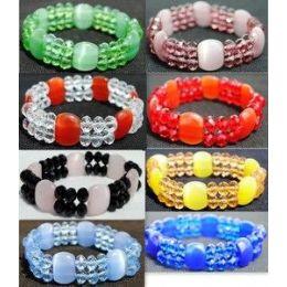 36 Units of Cat eyes Crystal bracelet jewelry - Bracelets