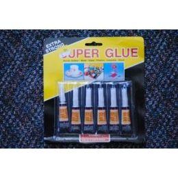 48 Units of 6pcs Super Glue - Glue Office and School