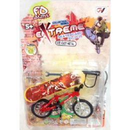 48 Units of Bike Skateboard Toy Set Toys - Toy Sets
