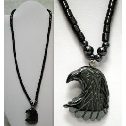 48 Units of Magnetic Hematite Necklace Eagle - Necklace