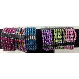 120 Units of Magnetic Hematite Bean Shaped Wraped Necklace/ Bracelet - Bracelets